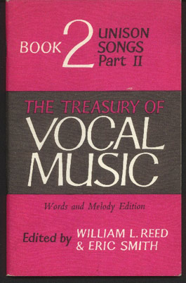 Image for The Treasury of Vocal Music - Words and Melody Edition - Book 2, Unison Songs Part II