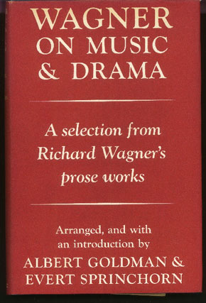 Image for Wagner on Music and Drama. A Selection from Richard Wagner's Prose Works