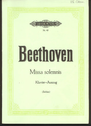 Image for Missa Selemnis