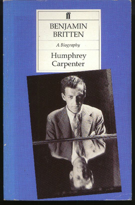 Image for Benjamin Britten: A Biography