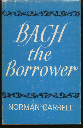 Image for Bach the Borrower