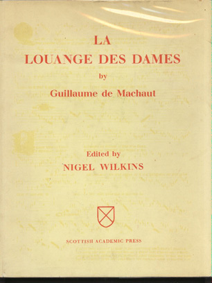 Image for La Louange Des Dames by Guillaume de Machaut