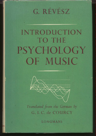 Image for Introduction to the Psychology of Music