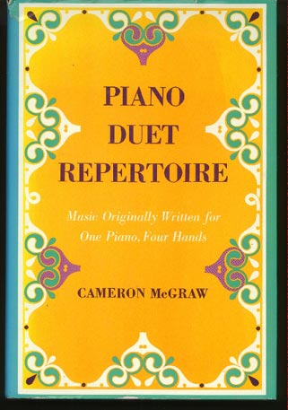 Image for Piano Duet Repertoire. Music Originally Written for One Piano, Four Hands.