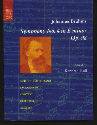 Image for Johannes Brahms. Symphony No 4 in E Minor Op. 98