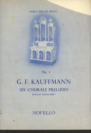 Image for Six Chorale Preludes.