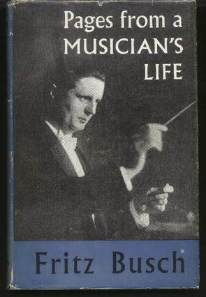 Image for Pages from a Musician's Life