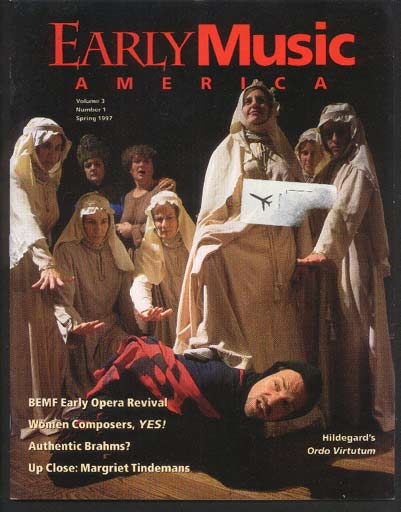 Image for Early Music America the Magazine of Historical Performance Volume 3