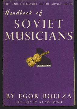 Image for Handbook of Soviet Musicians