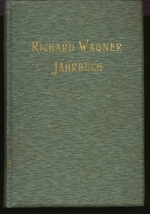 Image for Richard Wagner - Jahrbuch. Zweiter Band