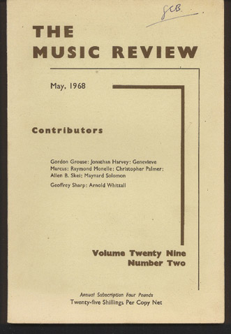 Image for The Music Review: Volume 29