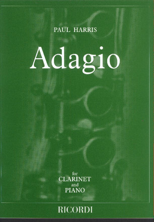 Image for Adagio for Clarinet and Piano