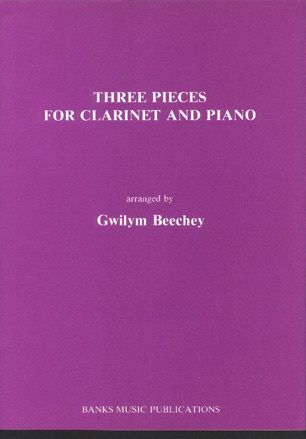Image for Three Pieces for Clarinet