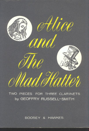 Image for Alice and the Mad Hatter. Two Pieces for Three Clarinets