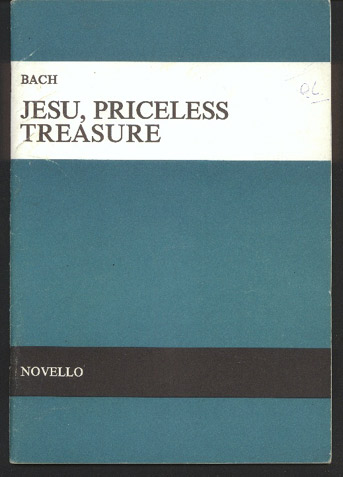 Image for Jesu, Priceless Treasure (Jesu Meine Freude)