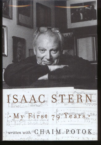 Image for Isaac Stern. My First 79 Years
