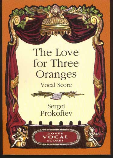 Image for The Love for Three Oranges. Op. 33 (Vocal Score)