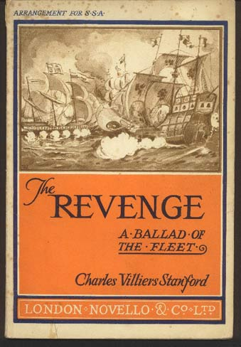 Image for The Revenge. A Ballad of the Fleet. (Op.24)