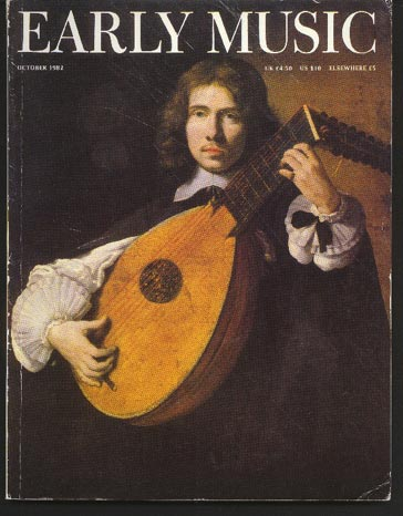 Image for Early Music Vol 10 No 4 October 1982