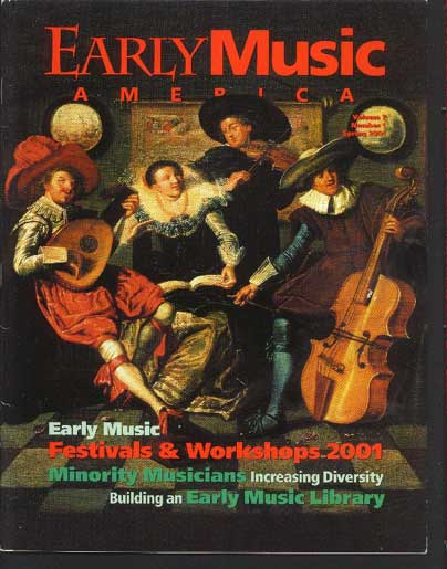Image for Early Music America The Magazine of Historical Performance Volume 7 Number 1
