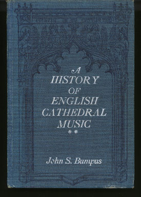 Image for A History of English Cathedral Music 1549 - 1889. (2 Volumes)