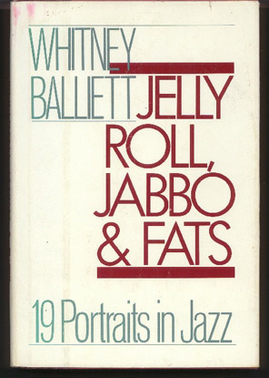 Image for Jelly Roll, Jabbo, and Fats. 19 Portraits in Jazz