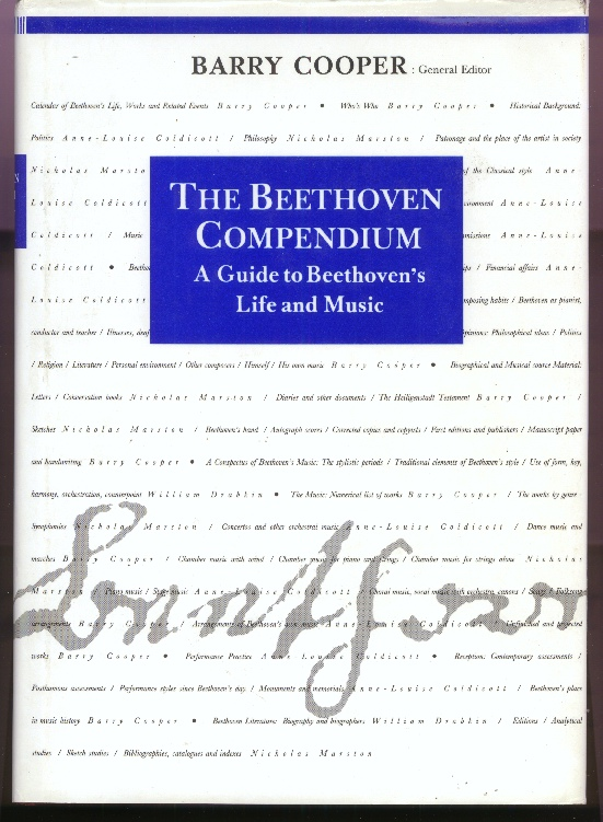 Image for The Beethoven Compendium - A Guide to Beethoven's Life and Music