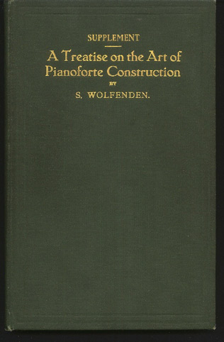 Image for Supplement to a Treatise on the Art of Pianoforte Construction