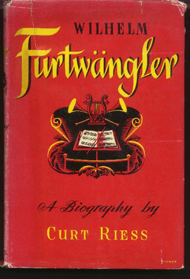 Image for Wilhelm Furtwängler. a Biography