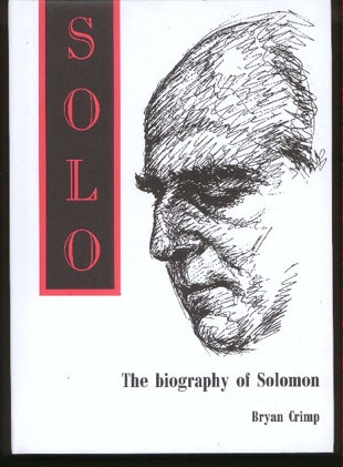 Image for Solo: The Biography of Solomon