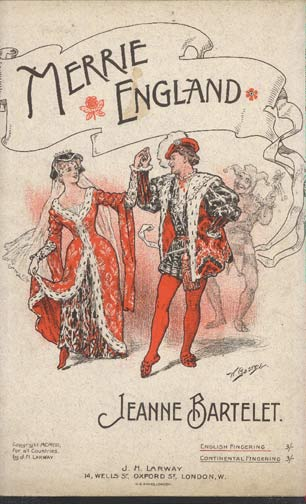 Image for Merrie England. Intermezzo for Piano