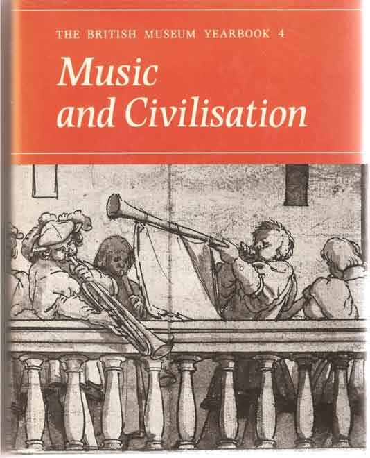 Image for British Museum Yearbook 4: Music and Civilization
