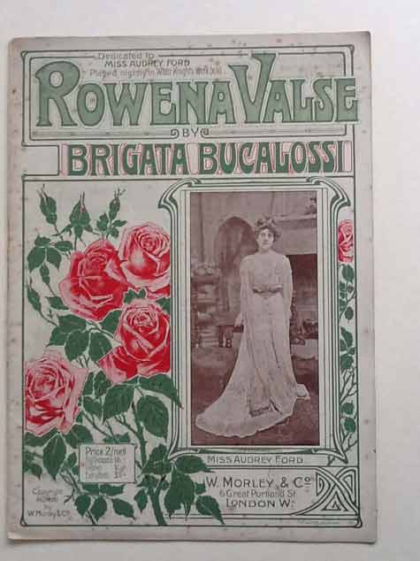 Image for Rowena Valse, for Piano