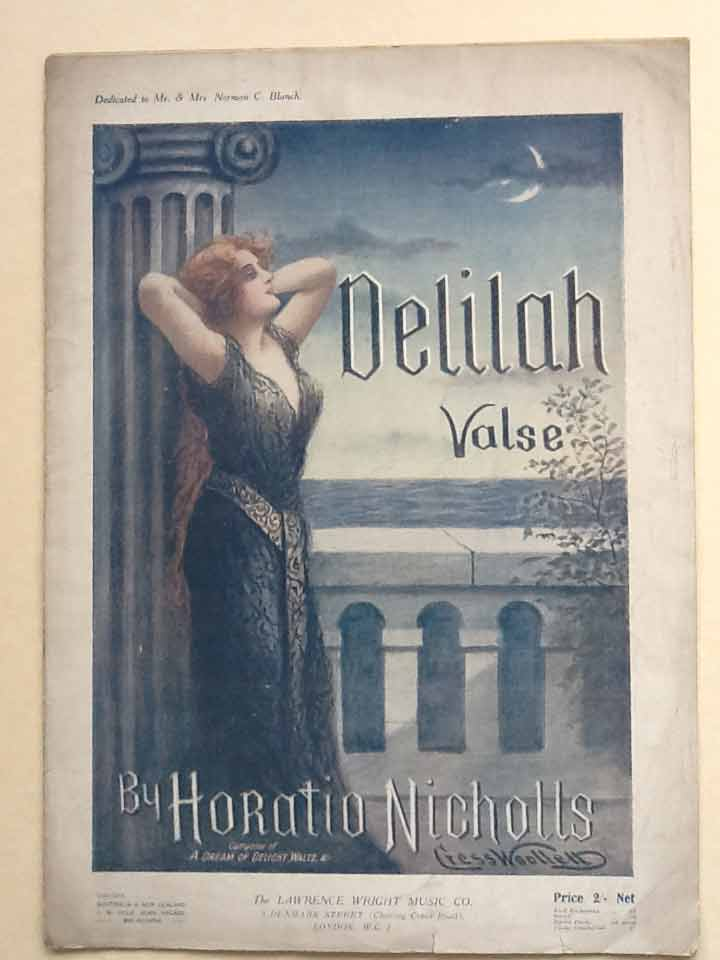 Image for Delilah Valse (For Piano)