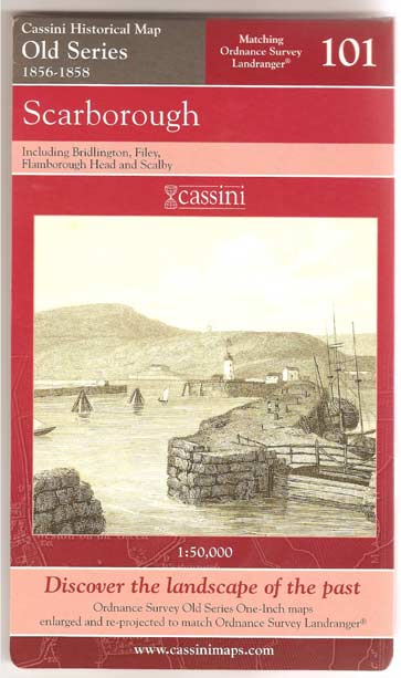 Image for Scarborough (Cassini Historical Map - Old Series)