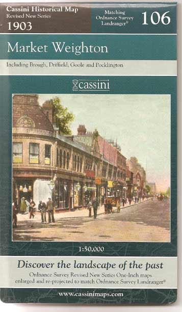 Image for Market Weighton (Cassini Historical Map, Revised New Series)