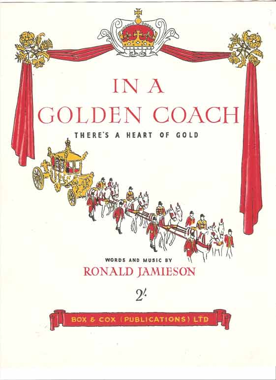 Image for In a Golden Coach - There's a Heart of Gold