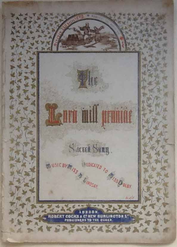 Image for The Lord Will Provide. Sacred Song (Bound With) Resignation. a Sacred Song