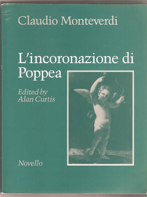 Image for The Coronation of Poppea. An Opera in a Prologue and Three Acts.