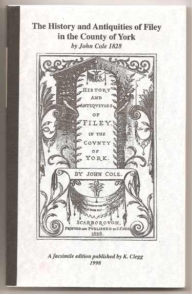 Image for The History and Antiquities of Filey in the County of York by John Cole, 1828