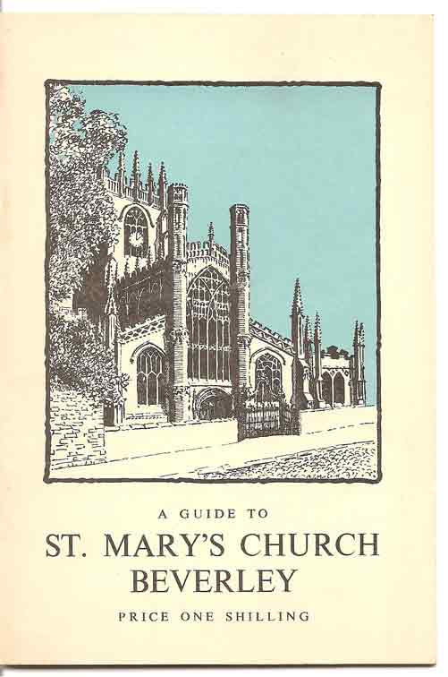 Image for A Guide to the Church of St. Mary, Beverley