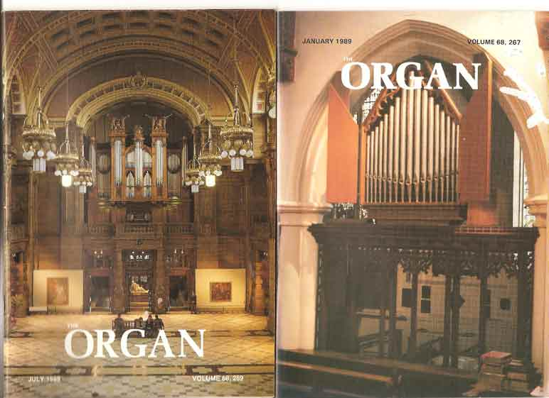 Image for The Organ: A Quarterly Magazine. Volume 68.