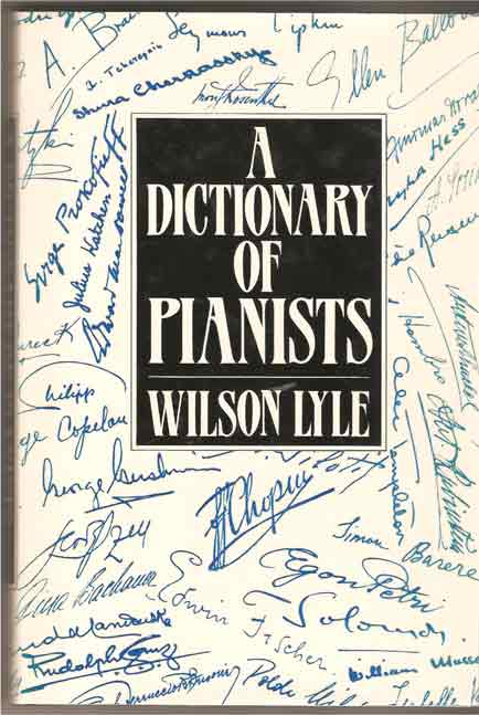 Image for A Dictionary of Pianists