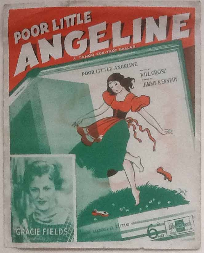 Image for Poor Little Angeline. A Tango Fox-Trot Ballad