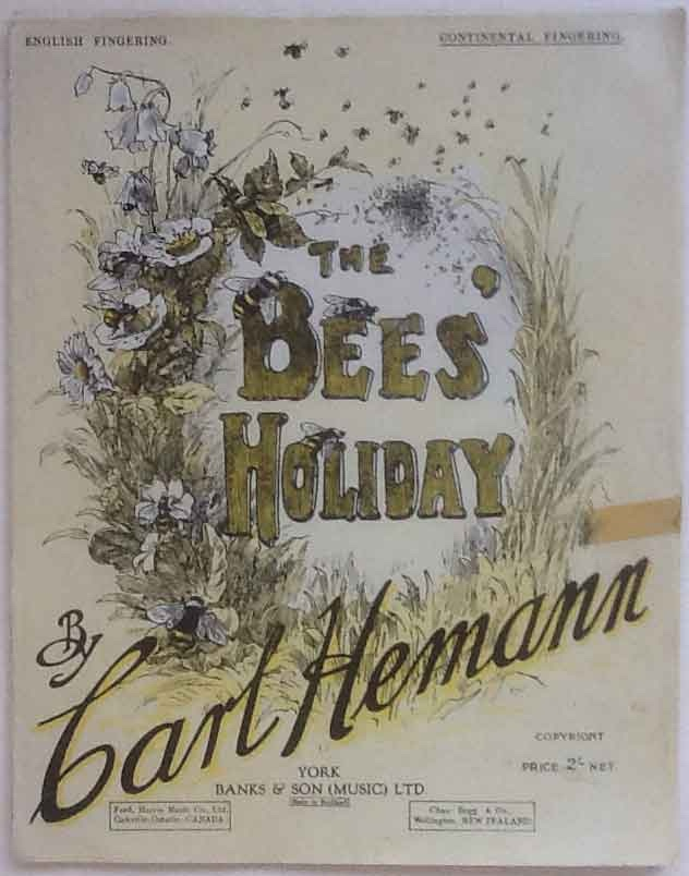 Image for The Bees Holiday for Piano