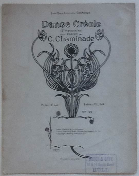 Image for Danse Créole For Piano