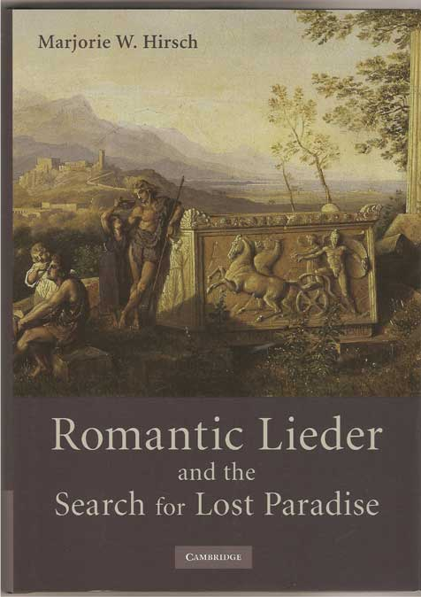 Image for Romantic Lieder and the Search for Lost Paradise