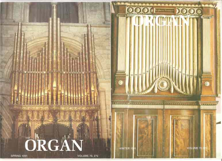 Image for The Organ: A Quarterly Magazine. Volume 70