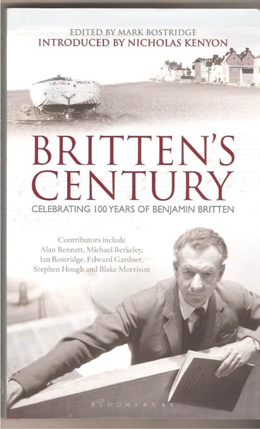 Image for Britten's Century. Celebrating 100 Years of Benjamin Britten
