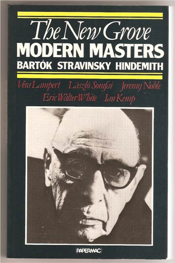 Image for Modern Masters: Bartok Stravinsky Hindemith